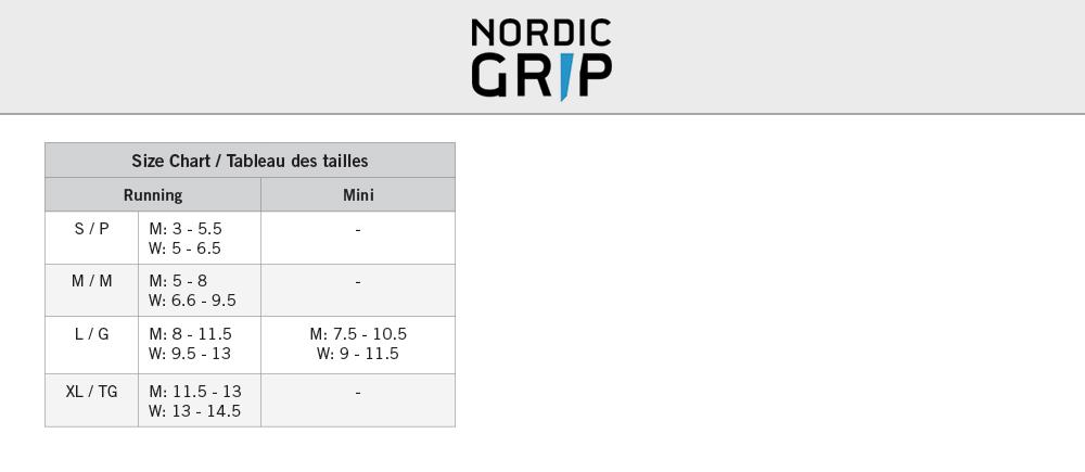 NordicGrip-SizeChart