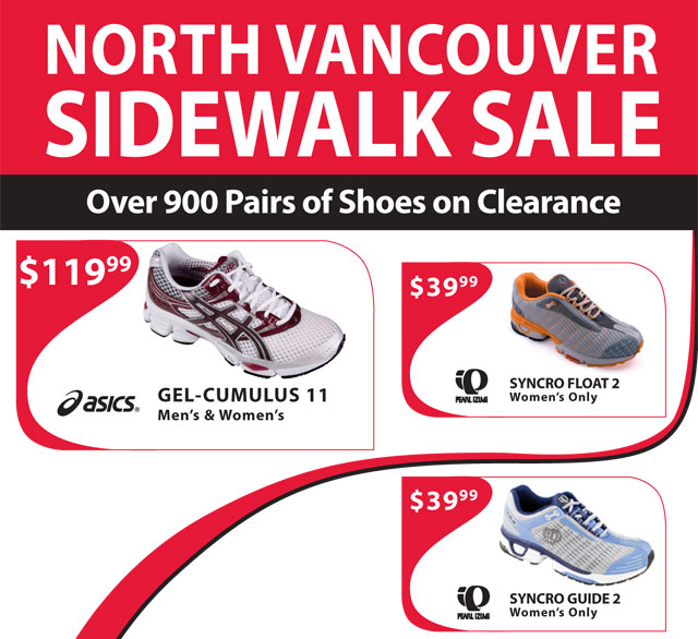 Running Room Vancouver Sale