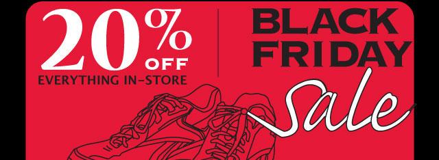 Running Room Black Friday Sale! - Nov