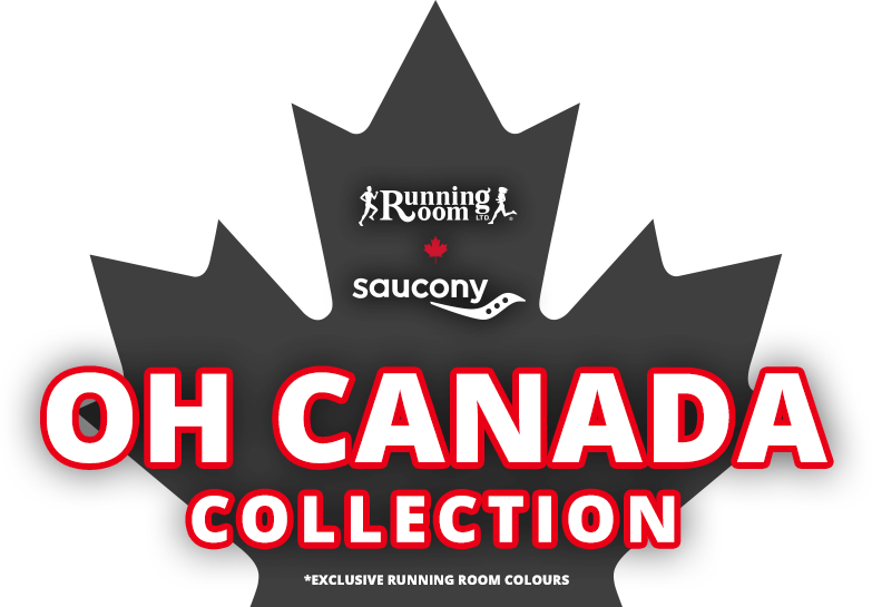 Saucony and Running Room exclusive Oh Canada Collection