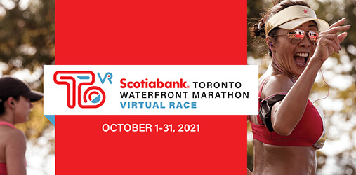 Scotiabank Toronto Waterfront Marathon Virtual Race